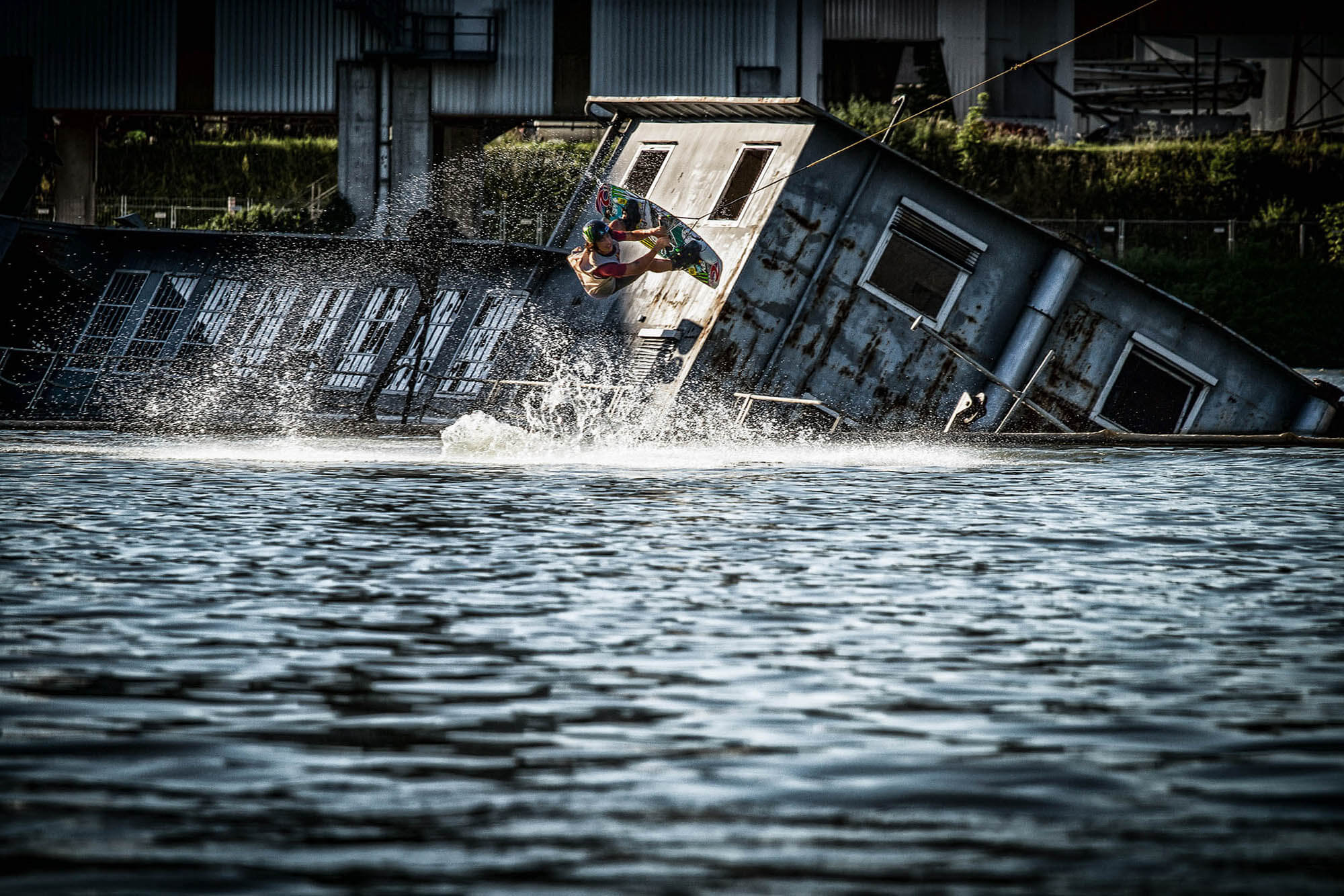 wakeboard wakeboarding redbull red bull wake of steel action sports photography sportfotografie flap photography fotograf philipp greindl photographer