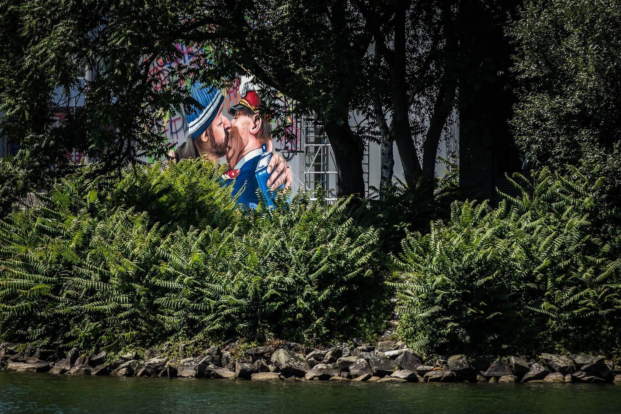 mural harbor graffiti erich willner shed gerhard haderer linz flap photography fotograf philipp greindl photographer